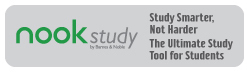 nook study. study smarter not harder. the ultimate study tool for students. click to go to barnesandnoble.com.